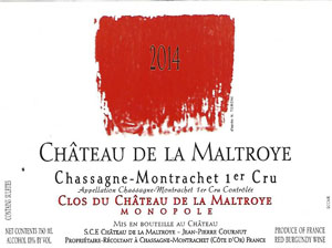 Château de la Maltroye Clos du chateau maltroye rouge 2014 pour Lindaboie.jpg