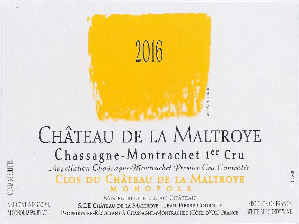 Clos du Château de la Maltroye Blanc 2016 pour Lindaboie.jpg