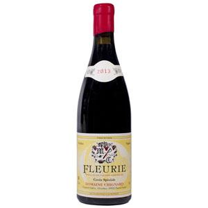 Domaine Chignard Cuvée Spéciale Fleurie 2013 pour Lindaboie.jpg
